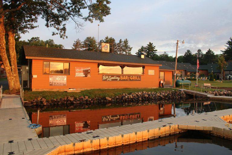 Pats Landing Resort Sunrise Hayward WI