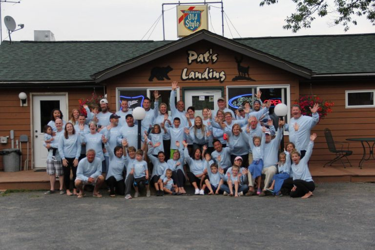 Pats Landing Group in White image