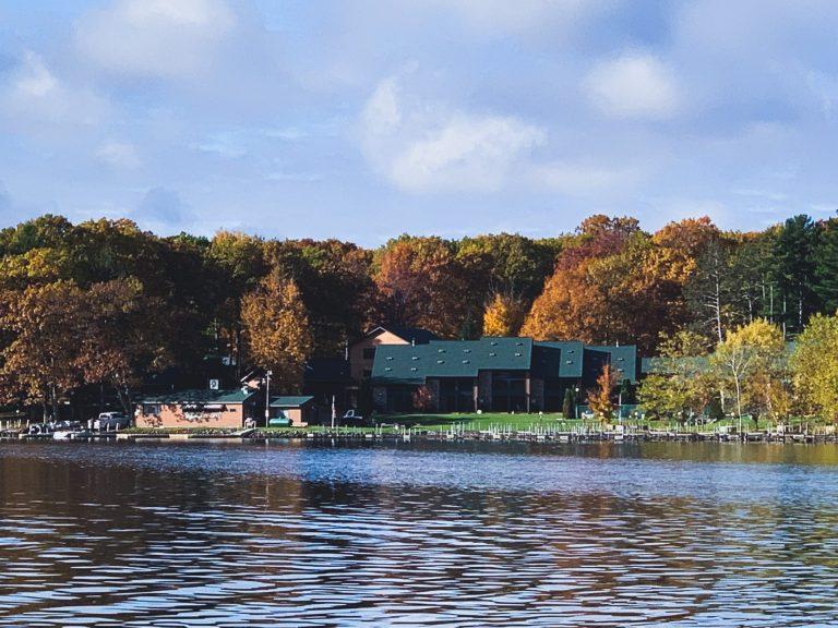 Pats Landing Resort From the Lake