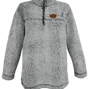 Ladies Sherpa Quarter Zip Pullover