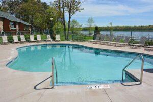 Pats Landing swimming pool