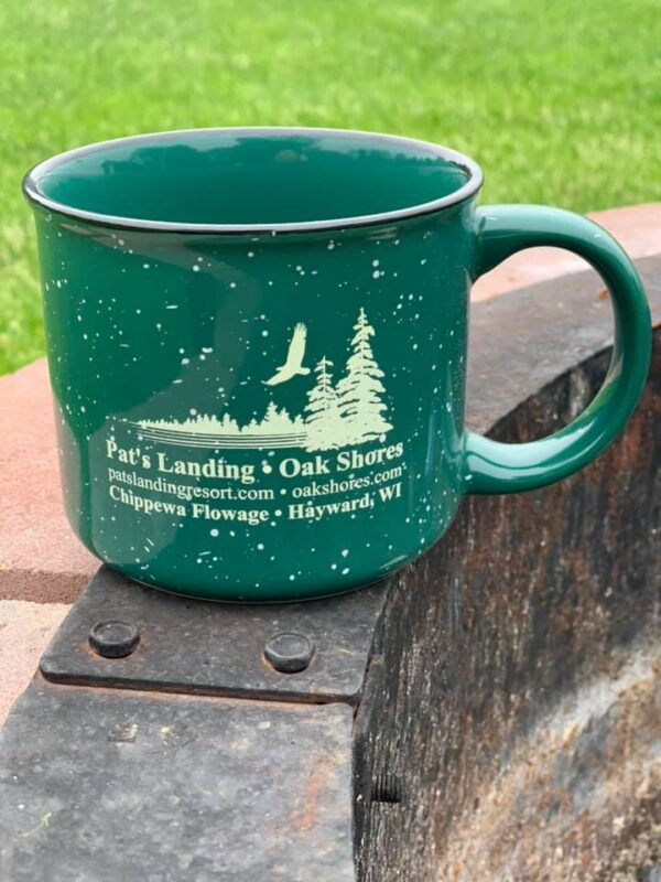 pats oakshores camp mug